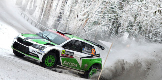 Tidemand har grepp om pallen i Rally Sweden