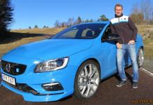 Richard Göransson kör för Polestar Cyan Racing 2016