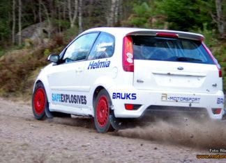 Värmländske Dennis Rådström kör Fiesta ST