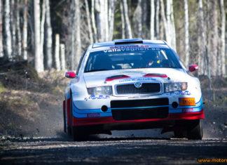 P-G Andersson redo för helgens South Swedish Rally