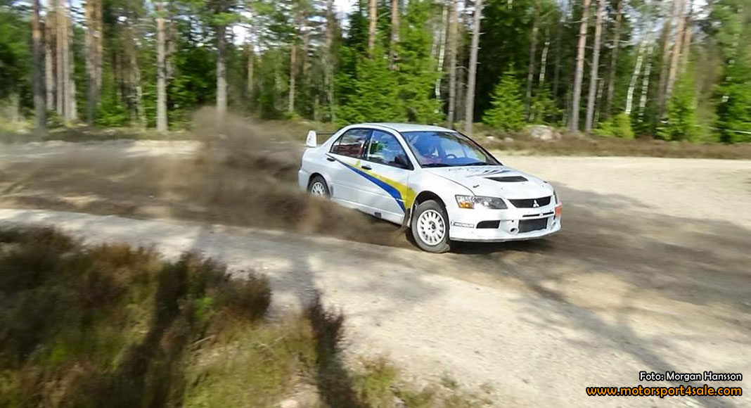 South Swedish Rally blir VM-uppladdning för Emil Bergkvist