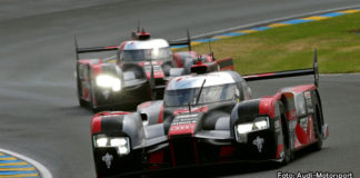 Tredje och fjärdeplats för Audi i Le Mans 24h