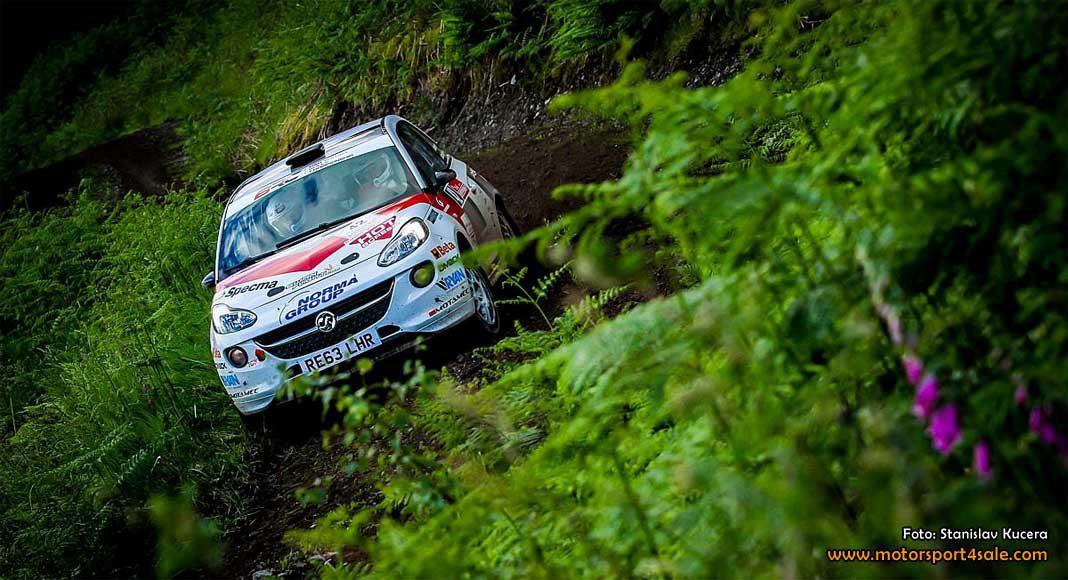 Pallplats för Mattias och Andreas i Scottish Rally