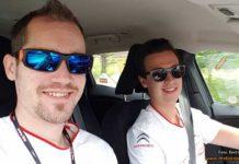Emil och Joakim inför det polska VM-rallyt