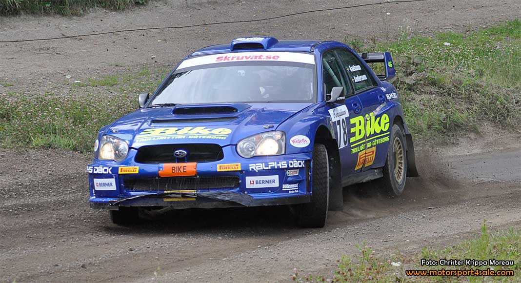 Jerker går för totalseger i East Sweden Rally