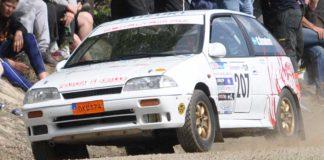 1300 Rallycup kör för Barncancerfonden