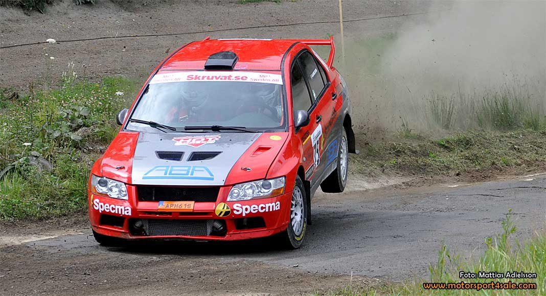 Mattias Adielsson till Rally Uppsala i 4wd