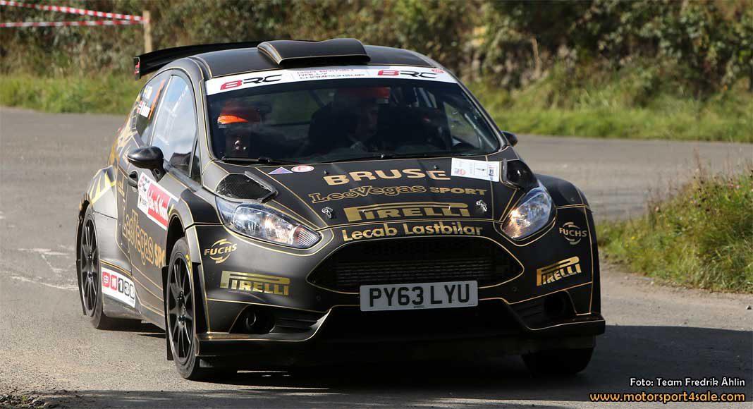 Klart - Fredrik Åhlin till start i Wales Rally GB