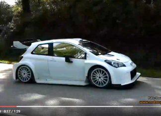 Se den omaskerade WRC-Yarisen på test i Spanien