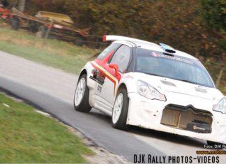 Emil och Joakim nöjda med Shakedown inför Rallye Du Condroz