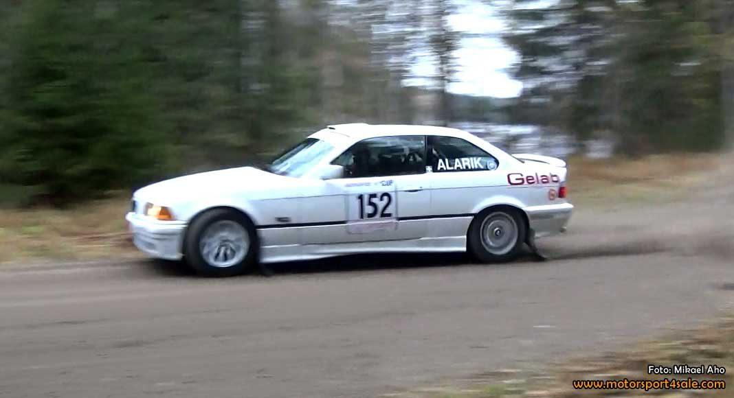 Inför söndagens Rally Xplosion i Västerås