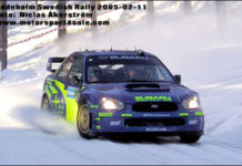Petter Solberg vann Svenska Rallyt 2005
