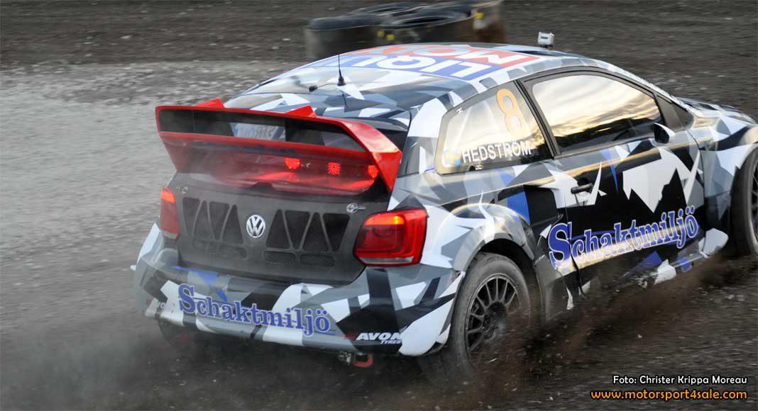 Hedström Motorsport till start med två bilar i RallyX Nordic 2017