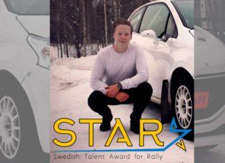 Elias Lundberg blir STARförare 2017