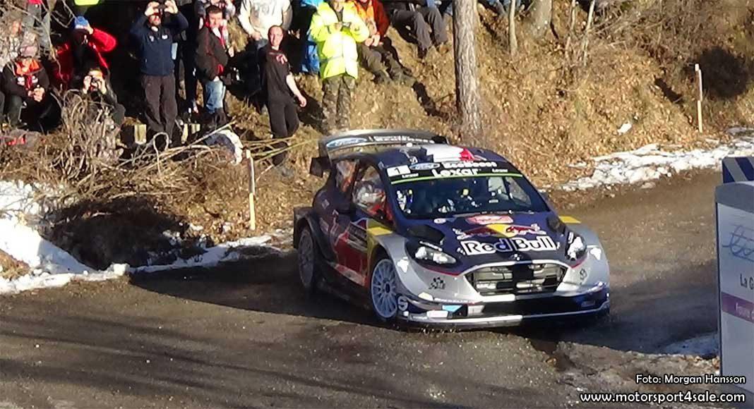 Ogier snabbast på Shake Down Rallye Monte Carlo 2017