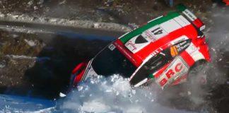 Bassos avåkning på Shake Down inför Rallye Monte Carlo