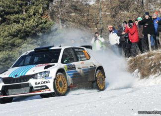 Utmanande dag för Tidemand i Rally Monte-Carlo