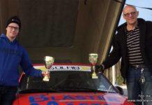 Ola och Victor vann premiären av årets 1300 Rallycup