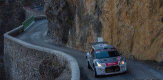 Emil Bergkvist och Joakim Sjöberg sexa i WRC2 i Monte Carlo