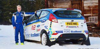 Allt klart för Daniel Röjsel i teamets Ford Fiesta R2t EcoBoost