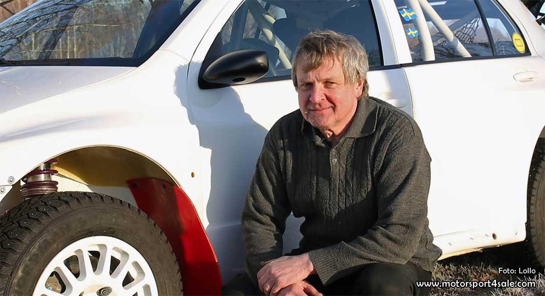 Mats Jonsson laddar om i Rally-SM med en ny bil