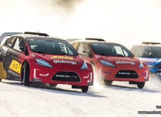 Spännande premiär för RallyX On Ice väntas i Söderhamn