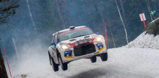 Emil Bergkvist inför Rally Sweden 2017