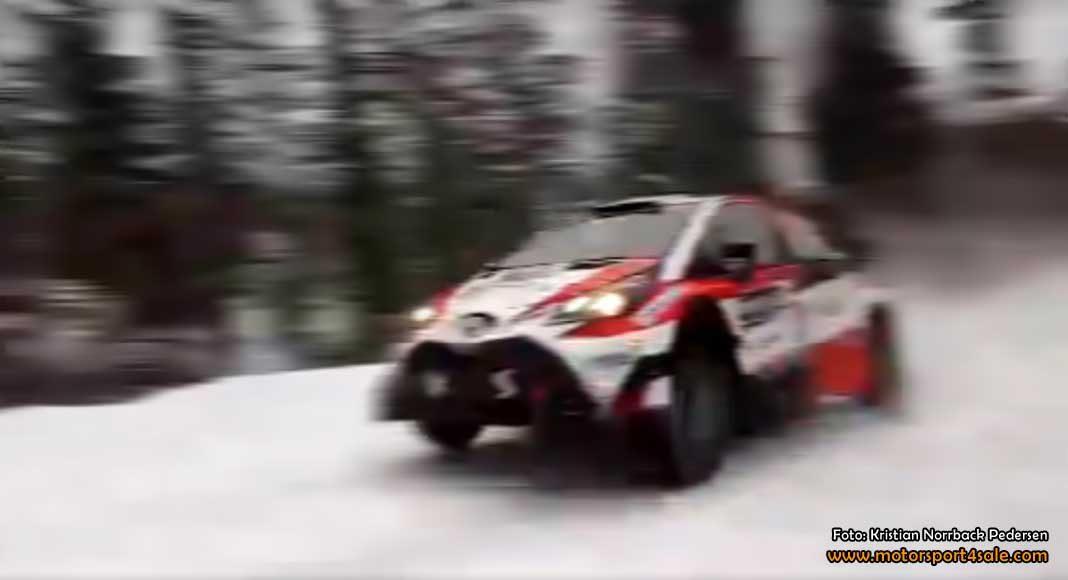 Fullfartsklipp från SS9 Knon 1 i Rally Sweden 2017