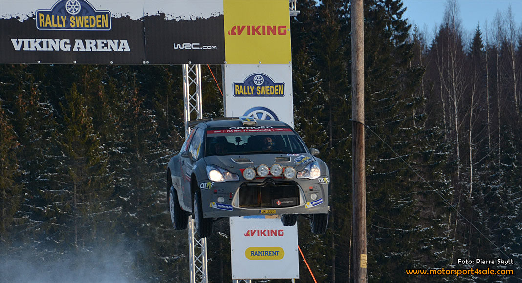 Emil Bergkvist berättar om insatsen i Rally Sweden 2017