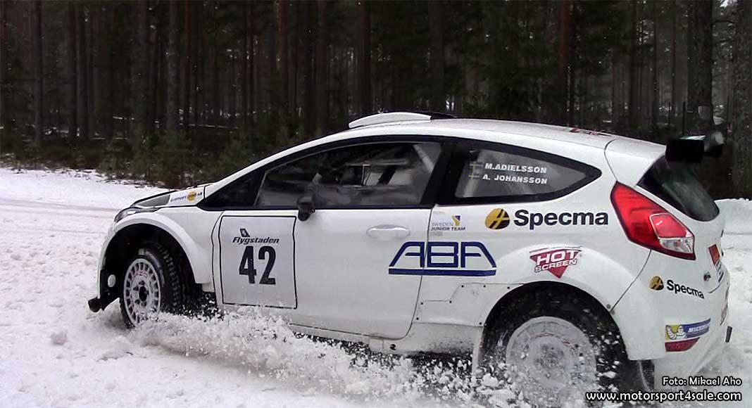 Mattias Adielsson inför Östersund Winter Rally