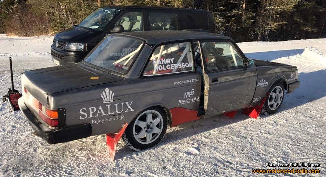 Robin Liljegren kommer till Östersund i en ny Volvo