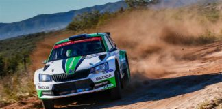 Pontus Tidemand leder Rally Argentina