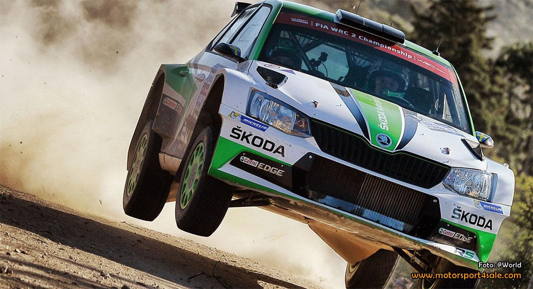 Tidemand laddar för stenhård fight i Rally Portugal