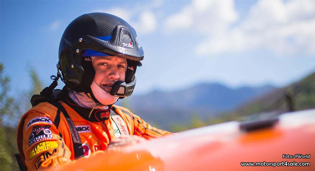 Dennis Rådström siktar högt i JWRC 2018