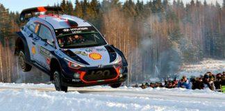 Hyundai och blågult tidigt anmälda till Rally Sweden