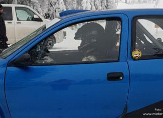 Daniel Röjsel till SM-premiären i en Kit Car-bil