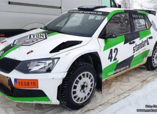 Jonasson vill vinna Rally Vännäs