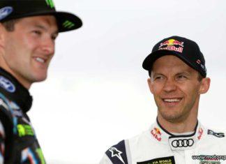 Andreas Bakkerud ny teamkompis med Mattias Ekström i EKS Audi Sport