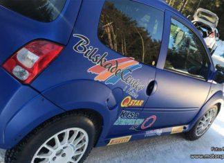 Albin Nordh till Rally Vännäs i uppdaterad Renault Twingo R2