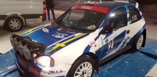 Daniel Röjsels racerapport från Rally Vännäs