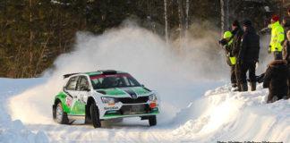 Mattias Adielsson leder Rally-SM efter Rally Vännäs