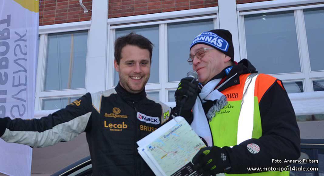Fredrik Åhlin snabbast i SM-premiären
