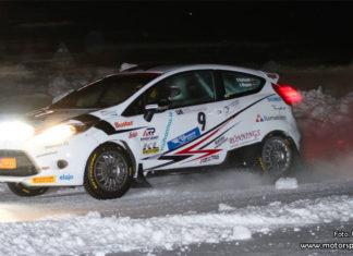 Victor Karlsson om fjärdeplatsen i JSM Otrimmat i Rally Vännäs