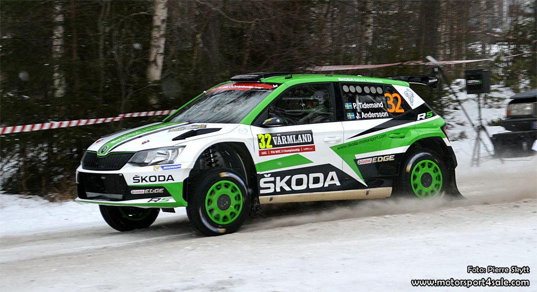 Pontus Tidemand redo att försvara WRC2-guldet!