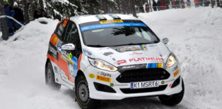 Seger för Dennis Rådström och Johan Johansson i Rally Sweden