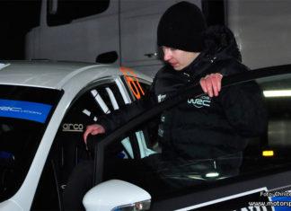 Emil Bergkvist om JWRC-debuten i Rally Sweden