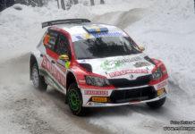 Johan Kristoffersson gav rallystjärnorna en match i Rally Sweden