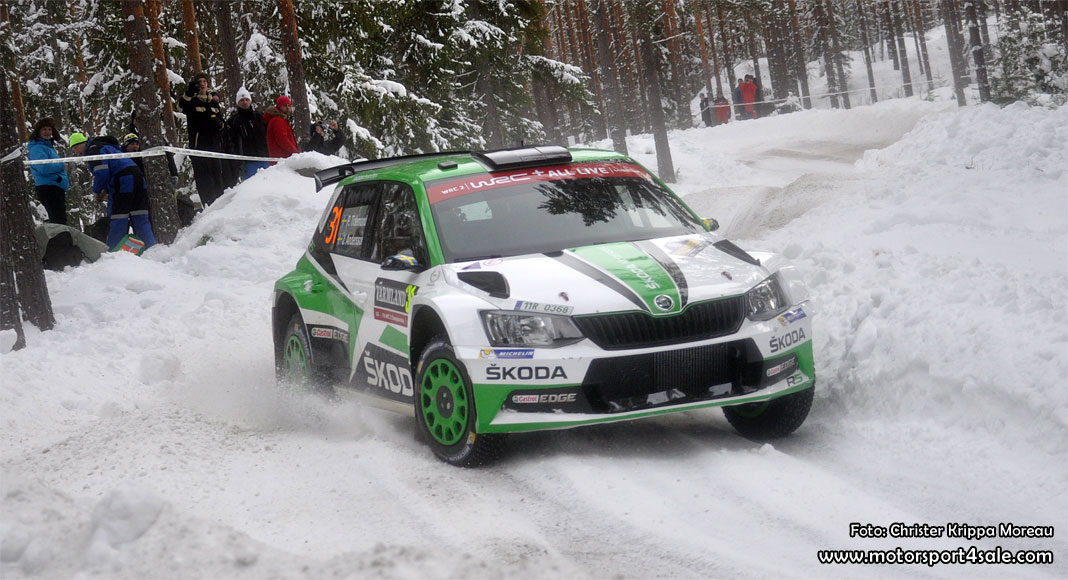 Pontus Tidemand om andraplatsen i Rally Sweden WRC2