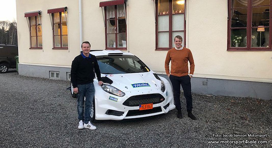 Jacob Jansson till kör Ford Fiesta i vinter