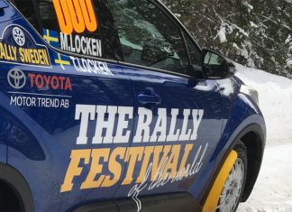 SVT sänder Rally-VM 2019-2021